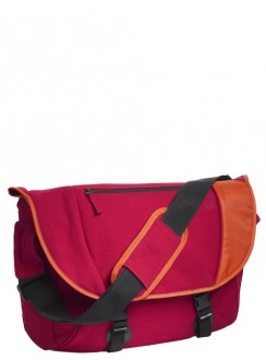 Canvas Messenger Bag Grizzly