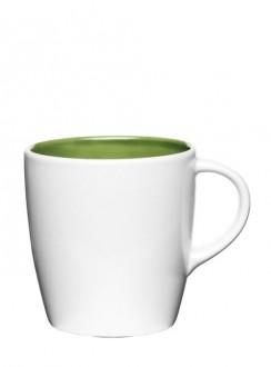 Liberica kubek, mały, zielony wewnątrz