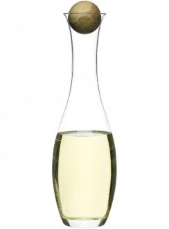 Karafka do wina/wody z dębowym korkiem