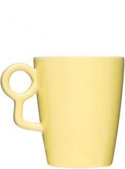 Loop kubek, żółty