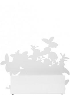 Form uchwyt na doniczkę do ziół, biały