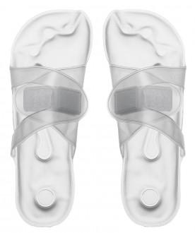 Rozgrzewacz stóp, transparentny.