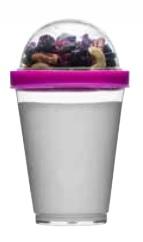 Fresh kubeczek na jogurt, różowy