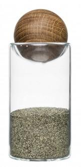 Oval oak zestaw do soli i pieprzu Sagaform