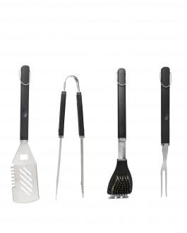 BBQ zestaw narzędzi, 4 szt.