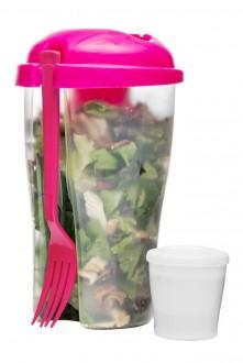To Go Salad pojemnik, różowy