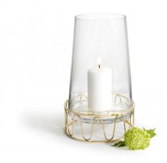 Szklany świecznik/szklany wazon