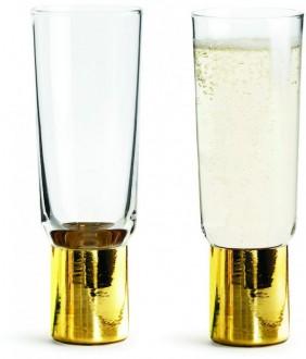 Kieliszki do szampana Club, 2-pak Sagaform