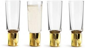 Kieliszki do szampana Club, 4-pak Sagaform