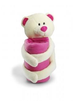 Soft Toy Miś ´Fred´ z kocem 8088