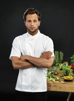 Chef´s Short Sleeve Pull on Tunic