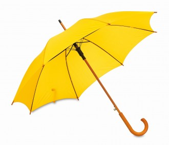Automatyczny Parasol-Laska drewniany Boogie