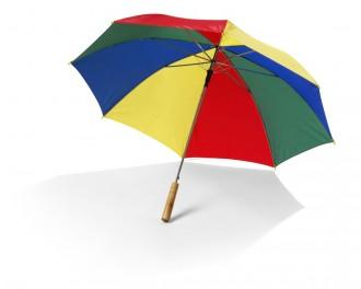 Automatyczny Parasol-Laska z drewnianą rączką