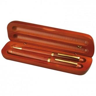 Zestaw piśmienny pióro i długopis ekologiczny