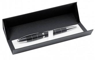 Długopis czarny, metalowy w etui.