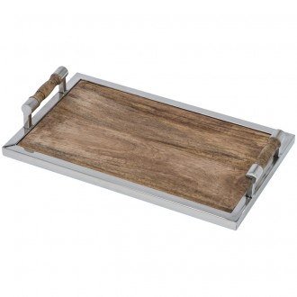 Drewniana taca prostokątna ekologiczna