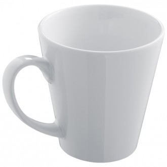 Ceramiczny kubek o kształcie litery V