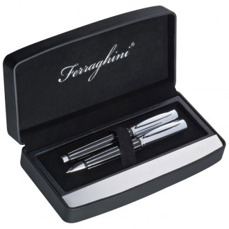 Zestaw pióro kulkowe i długopis Ferraghini